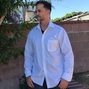 Joseph Abboud Regular Fit Dress Shirt 16.5